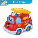 HuileToys รถดับเพลิง มหาสนุก Intellectual Fire Truck สำหรับน้อง 12 เดือน+