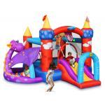 Happy hop บ้านเด็กเป่าลม jumping castles บ้านลม สไลเดอร์เป่าลม Dragon Quest Bouncer