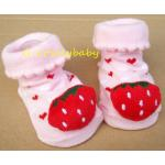 ถุงเท้าหัวการ์ตูน 3 มิติ ถุงเท้าเด็ก ถุงเท้าเด็กอ่อน ถุงเท้าเด็กวัยหัดเดิน ถุงเท้าพื้นกันลื่น เหมาะกับเด็กอายุ 0-1 ปี ( 8 )