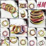 H&M Accessory สร้อยข้อมือ 4 สี 4 เส้น สไตล์ยุโรปและอเมริกา แบรนด์เนม H&M