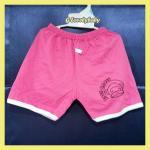เสื้อผ้าเด็ก กางเกงขาสั้น กางเกงขาสั้นเอวยางยืดลายพิมพ์หน้าลิงน่ารัก สำหรับอายุ 2-3 ปี