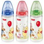ขวดนม NUK ลาย Winnie the Pooh First Choice +300 ml Bottle Size 1 Silicone Teat Disney by NUK สำเนา