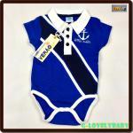 เสื้อผ้าเด็ก Bodysuits one piece Polo Neck- Verão สเปน บอดี้สูท เสื้อชิ้นเดียวแขนสั้น คอโปโล size 6-9M