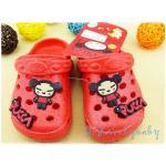 รองเท้าเด็ก รองเท้าแตะ Kids Shoes China Doll PUCCA ของแท้ รองเท้าเด็กหญิง 29-30 yards / 17cm พร้อมส่ง