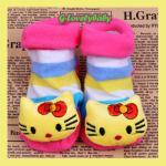 ถุงเท้าหัวการ์ตูน 3 มิติ ถุงเท้าเด็ก ถุงเท้าเด็กอ่อน ถุงเท้าเด็กวัยหัดเดิน ถุงเท้าพื้นกันลื่น เหมาะกับเด็กอายุ 0-1 ปี ( 1 )