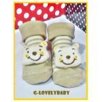ถุงเท้าหัวการ์ตูน 3 มิติ ถุงเท้าเด็ก ถุงเท้าเด็กอ่อน ถุงเท้าเด็กวัยหัดเดิน ถุงเท้าพื้นกันลื่น เหมาะกับเด็กอายุ 0-1 ปี