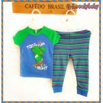 ชุดนอนเด็ก หญิง ชาย ชุดนอนเด็ก แบรนด์เนม Faded Glory ชุดนอนเด็กเล็ก Baby Pajamas Size 12M,18M ,3T , 4T, 5T