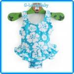 ชุดว่ายน้ำเด็ก ชุดว่ายน้ำเด็กหญิง ชุดว่ายน้ำหนูน้อย ชุดว่ายน้ำเด็กเล็ก สีสดใสน่ารักมาก แบรนด์เนม Wonderkids Size 12M(12เดือน) , Size 18M(18เดือน)