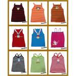 เสื้อผ้าเด็ก ผ้าไหมพรม สไตล์เกาหลี set A