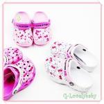 รองเท้าเด็ก รองเท้า คร็อก Crocs Hello Kitty crocs shoes รองเท้าแตะ Crocs ของแท้