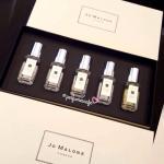 Jo Malone Fragrance Combinning Cologne Set ขนาด 9 มิล/สเปรย์ 5 กลิ่น ในกล่องสวยหรู