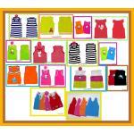 เสื้อผ้าเด็ก ผ้าไหมพรม สไตล์เกาหลี
