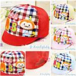 หมวกเด็ก หมวกเด็กอ่อน หมวกเด็กสไตล์เกาหลี ลายการ์ตูนลิง สามมิติ