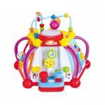 HuileToys กล่องกิจกรรมเล็ก เล่นได้รอบตัว เกม box Happy small world สำหรับน้อง 18 เดือน+
