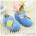 Disney Pre-walker Baby Shoes รองเท้าเด็ก รองเท้าเด็กแบรนด์เนม รองเท้าเด็กผู้หญิงน่ารัก รองเท้าเด็กหญิงวัยหัดเดิน ยี่ห้อ Disney Size 3