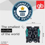 GB POCKIT 2017 Germany Ver . รถเข็นเด็ก Goodbaby Pockit2 ที่พับแล้วเล็กที่สุดในโลก รถเข็น NEW Pockit มีพนักรองคอ เเข็งเเรงรับน้ำหนักได้ถึง 23 kg ประกัน 1 ปี ศูนย์ goodbaby Thailand