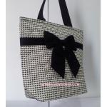 กระเป๋าเดินทาง นารายา ผ้าคอตตอน Size L ลายชิโนริ ผูกโบว์ด้านหน้า ใส่ของได้เยอะ (กระเป๋านารายา กระเป๋าผ้า NaRaYa กระเป๋าแฟชั่น)