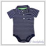 เสื้อผ้าเด็ก Bodysuits one piece Polo Neck Carter's Baby บอดี้สูท เสื้อชิ้นเดียวแขนสั้น คอโปโล 9M