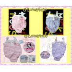 เสื้อผ้าเด็ก Minnie and Marrie Baby Bodysuits ชุดบอดี้สูทต่างประเทศ ดิสนี่ย์ มินนี่่ และ แมรี่ Size 0 - 3 m