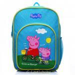 Peppa Pig Kids Backpack เป๊ปป้าพิก กระเป๋าเป้เด็ก กระเป๋าสำหรับเด็กอนุบาล น่ารักๆ (4)