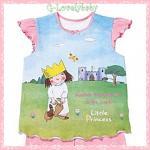 ชุดเด็กหญิง ขายแยกชุด เสื้อเด็กหญิง แบรนด์เนม มาเธอร์แคร์ ผ้าคอตตอนนุ่มมาก คุณภาพเกรด A ของแท้ รุ่น Little Princess