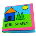 หนังสือผ้าเสริมพัฒนาการ SHAPES