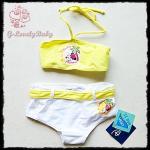 ชุดว่ายน้ำเด็กหญิง ชุดว่ายน้ำบีกีนี่ ชุดว่ายน้ำสองชิ้น Minnie Mouse Disney ของแท้ ขนาด 86cm