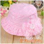 หมวกเด็ก หมวกเด็กอ่อน หมวกเด็กทารกหญิง หมวกเด็กสไตล์เกาหลี หมวกเด็กหญิงสไตล์เจ้าหญิง