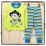 ชุดนอนเด็ก หญิง ชาย ชุดนอนเด็ก แบรนด์เนม Bailiweini ชุดนอนเด็ก Baby pajamas Size 110(3-4ปี)