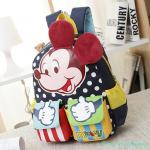 กระเป๋าเป้เด็ก กระเป๋าเด็กลายการ์ตูน กระเป๋าเป้เด็ก กระเป๋าสำหรับเด็กอนุบาล น่ารักๆ Mickey Mouse น้ำเงินเข้ม