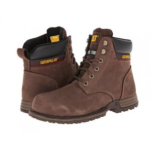 รองเท้า หัวเหล็ก Women's Caterpillar Womens Freedom Steel Toe Work Boot (8.5 M in Chocolate) Size 38-42