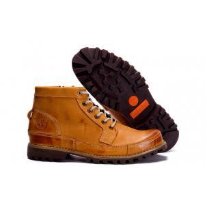 รองเท้าหนัง Men's Timberland 7728 Earthkeepers City Premium Side Zip Boots Yellow Size 39-44 พร้อมกล่อง