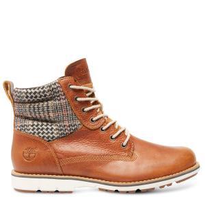 รองเท้า Timberland BREWSTAH 6 inch warm boots BROWN W / TEXTILE 9741B