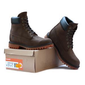 รองเท้าหนัง Men's Timberland 6-inch Premium Classic Boot Black Brown Size 39-45 พร้อมกล่อง