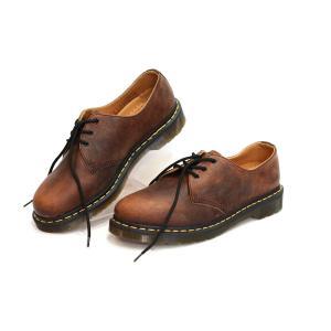รองเท้า Dr.Martens VINTAGE 1461 Brown Men Women Size 40 - 44 พร้อมกล่อง