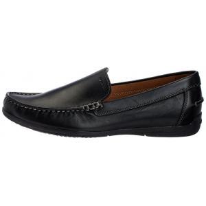 รองเท้าหนัง Geox SIMON Mocasines Black Men's ไซต์ 40-44 พร้อมกล่อง
