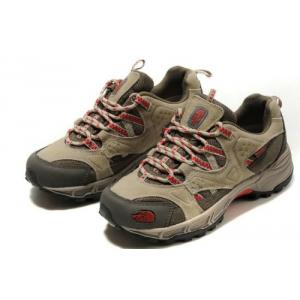 THE NORTH FACE SHOES WOMENS HEDGEHOG GTX XCR III Beige Red GTX Gore Tex Shoe สำหรับผู้หญิง size 37-40