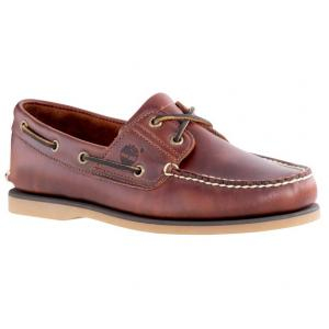 รองเท้าหนัง Men's Earthkeepers Timberland Classic 2 Eye Boat Shoe (Men's) - Rootbeer Smooth Size 40 - 45.5 พร้อมกล่อง