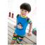 ชุดว่ายน้ำเด็กชายลายลิง **พร้อมหมวก สีฟ้า thumbnail 4
