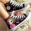 รองเท้าผ้าใบเพ้นท์ลาย Babaya thumbnail 6
