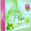 ไซเดอร์ พลัส Sider Plus ผลิตภัณฑ์คอลลาเจน 10000 mg. นำเข้าจากญี่ปุ่น เป็นการผสมผสาน ระหว่าง คอลลาเจน แอลกลูต้าไธโอน สารสกัดจากเมล็ดองุ่น สารสกัดอะเซโรล่าเชอรี่ มอลโตเดกซ์ตริน ซิงก์ อะมิโน แอซิต คีเลต สารสกัดจากแอบเปิ้ลเขียว และ สารสกัดจาก สับปะรด ที่อุดมไ