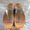 fitflop Shoes LuLuลูลู่ประดับเพชรสีครีมราคา550บาท
