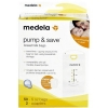 medela pump&save breastmilk bags ถุงเก็บน้ำนม สำหรับปั๊มเก็บ 50 ถุง
