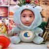 หมีตาหวานสีฟ้า