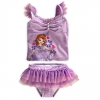 z Sofia Princess Swimsuit for Girls 2-Piece (Size4)