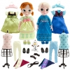 "z Frozen Elsa and and Anna 16"" animators - deluxe Gift Set"