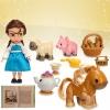 (Mini) Disney Animators' Collection Belle Mini Doll Play Set - 5'' ของแท้ นำเข้าจากอเมริกา