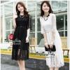 Maxi Vintage Floral Lace Korea Dress With Belt แมกซี่เดรสผ้าลูกไม้ทั้งตัวมาพร้อมเข็มขัดเข้ากันได้ลงตัวค่ะ งานสวยหนุ่มใส่สบายผิวค่ะ ทรงคอกลม แขนยาวปิดศอก กระโปรงทรงปล่อยยาว ผ้าลูกไม้มีลายในตัว โดดเด่นสวยงามมากค่ะ หรูหราเหมาะกับใส่ออกงานตามสไตล์สาวๆค่ะ งานม