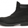 รองเท้าหนัง Men's Timberland 6-inch Waterproof Double Collar Boots All Black Size 39-45 พร้อมกล่อง