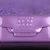 Pre-Order กระเป๋าคลัทช์ปั๊มลายหนังจระเข้ สีม่วง กระเป๋าแฟชั่นผู้หญิง เปลี่ยนเป็นกระเป๋าถือออกงานหรูได้ หรือใช้เป็นกระเป๋าสะพายไหล่ได้